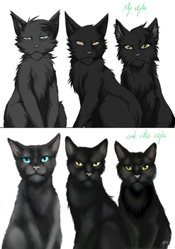 Warriors: Crowfeather's family by Marshcold