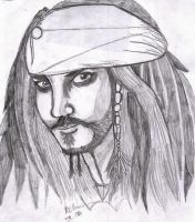 Captain Jack Sparrow by MWRoach