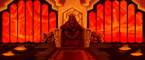 dwarven throne room by Fault-Classic
