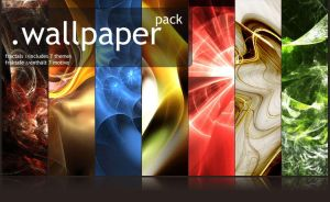 Wallpaper-Pack - Fractals by MadPotato