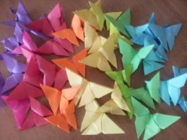 Butterfly Origami by sery990
