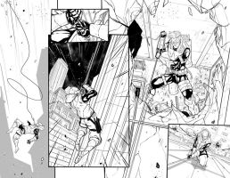 Red Hood / Arsenal n.3 page 2-3 by DenisM79