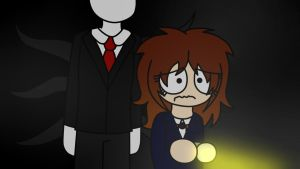 Me playing Slender by Norphy