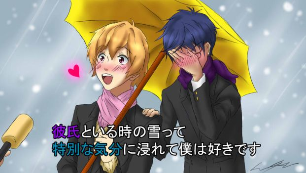 Nagisa and Rei's Special Feelings by TheGreatMillz33
