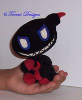 Dark Chao Plush Sonic Handmade Custom OOAK by TorresDesigns