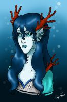 Belah, the oracle of the water by LedyRaven