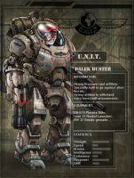 UNIT Dalek Buster Profile by DarkAngelDTB