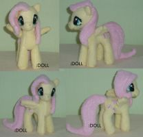 Dinky 5 Inch Fluttershy - other shots by dot-DOLL
