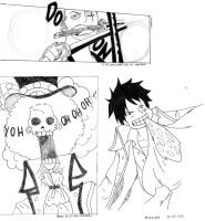 Zoro, Brook and Luffy~ by momovvip
