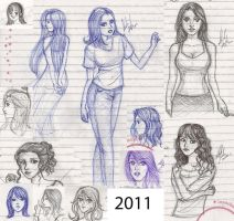 Drawing in the Class 07 by NatBelus