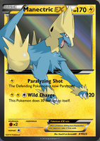 Manectric EX by Ogre-Lord3