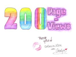 THANK YOU - 200 by doline-in-love