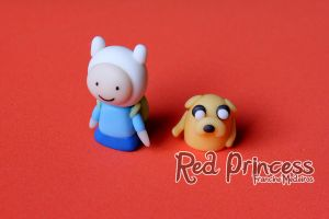 Adventure time puppet by theredprincess
