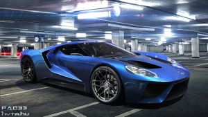 Ford GT Concept by pacee