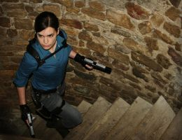 Lara Croft_Beneath the ashes 5 by Tyalis-photo
