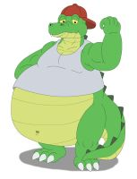 Gus the Gator by Canson by MCsaurus