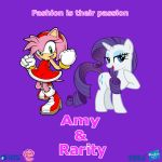 Amy and Rarity by Nightfire3024