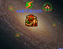 NES Metroid Wallpaper by Rthecreator