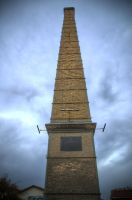 Old Gas Plant chimney in Gazi Athens by etsap