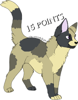 Cat Adoptable 3. CLOSED by MichelsAdoptions