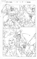 Xmen pencil pages 07 by amilcar-pinna
