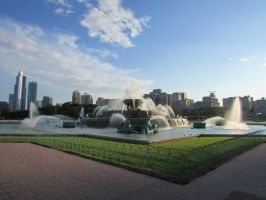 Fountain in Chicago by eon-krate32