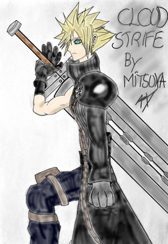 Cloud Strife by MitsunaNuzFr by MitsunaNuzFr