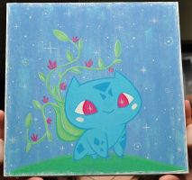 Bulbasaur Painting by fuish