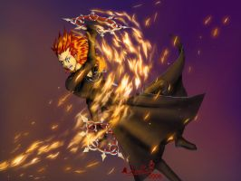 Nr8 - Flurry of Dancing Flames by noot