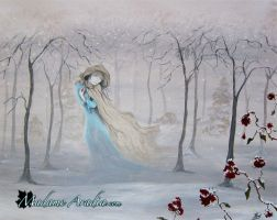 Softly, Gently Comes the Snow by MadameAradia