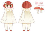 Amanita Muscaria by Kiwifie