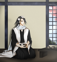 + Byakuya's Spare Time + by LightSilverstar