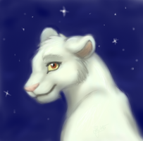 White Lioness by BillieJean485