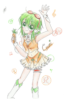GUMI - Carrot Girl! by HinaIchigo6