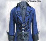 Steampunk Wedding  frock coat by TheSandstoneMan