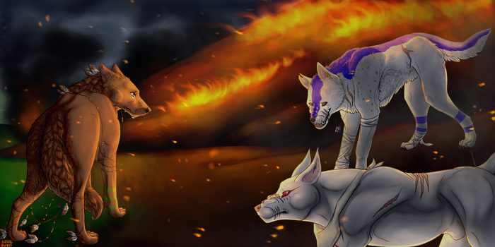 Fear Those Who Feed the Flames of Your Fears... by SapphireWolf100