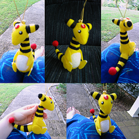Ampharos Bell Plush Commission by Soudaiya
