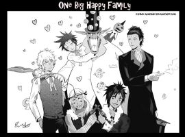 One Big Happy Family by Allenwalker14