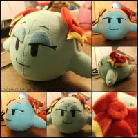 Lady Bow Plush by DooplissShinigami