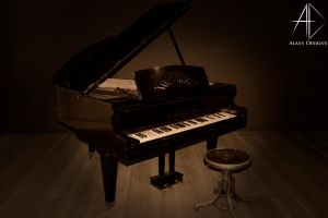 piano by AlaasDesigns