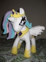Princess Celestia plush by FairyAnts