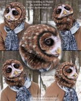 Metis - Northern Spotted Owl Mask by Nambroth