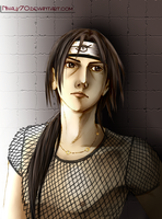 Itachi-colored by EnmaKatsuki007
