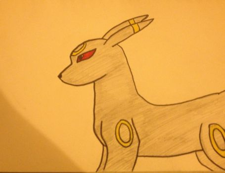 Umbreon by TheLOLChicken
