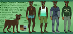 Robert Silenzio Lawrence reference sheet 2015 by CrashSpyro98