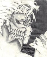 Epic Grimmjow by t2thea2them