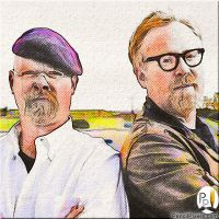 Adam And Jamie Mythbusters by PencilComic