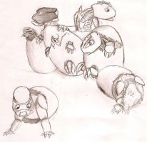 Hordika Hatchlings by Shadow-Lockheed