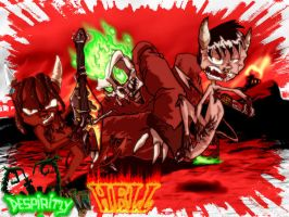 Despiritly In Hell by fols2005