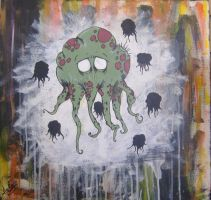 The Six Tentacled Octopus by takecharge